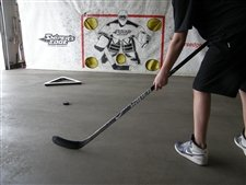 Sniper's Edge Hockey Edge Hockey Shooting Tarp, 8 x 16-Feet