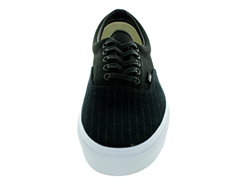 Vans Unisex Canvas Adulto stripe black Classic Zapatillas 2 Era rxIwZFr