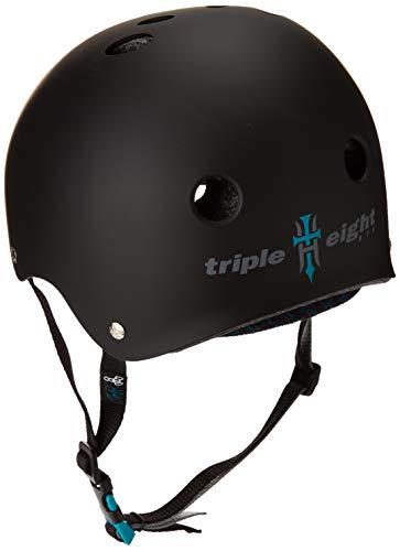 Triple Eight Tony Hawk Signature Model The Certified Sweatsaver Helmet for Skateboarding, BMX, and Roller Skating, X-Small/Small by Triple Eight (Image #2)