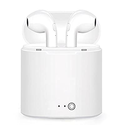 Wireless Earbuds Bluetooth Headphones Bluetooth Earbuds Bluetooth headsets 4.1 Stereo Earphone with Charging Box Cordless Sport Headsets for All Bluetooth Devices