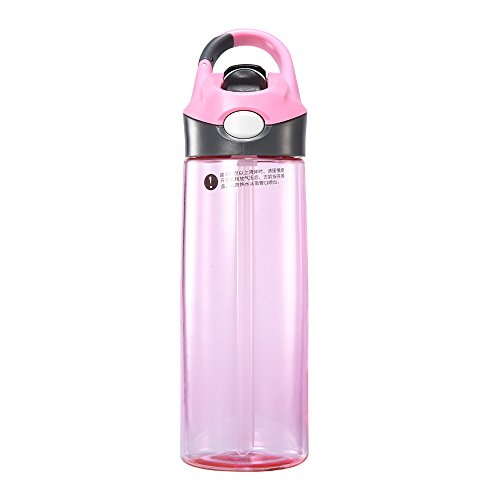 t Water Bottle 20 oz Sport Bicycle One-Hand Bottle (Pink) ()