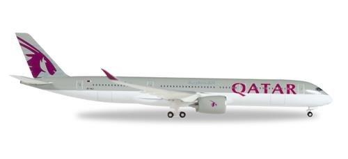 Herpa Wings 530675 Qatar Airways Airbus A350 900 1 500 Scale Diecast Model
