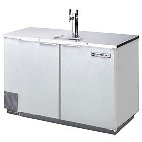 "Beverage-Air DD50C-1-S 50"" Two Section Direct Draw Club Top"