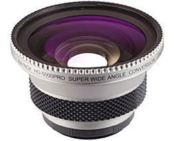 (Raynox HD-5050 Pro High Definition Wide Angle Lens for Camcorders with a 37mm Thread, with 6 Adapter)