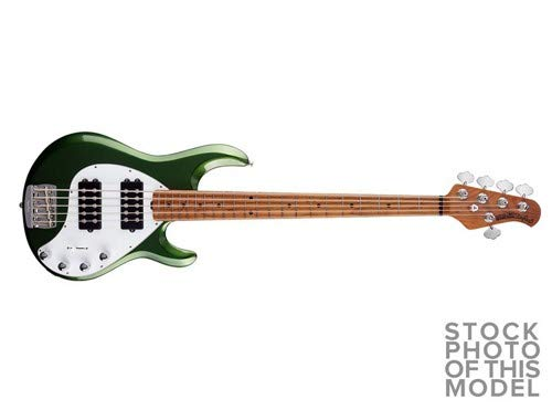 MUSIC MAN StingRay5 Special HH Roasted Maple Charging Green 5弦エレキベース   B07F6ZLW4S