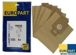 Replacement vb254 Compatible Pack of 5 Bags Maddocks