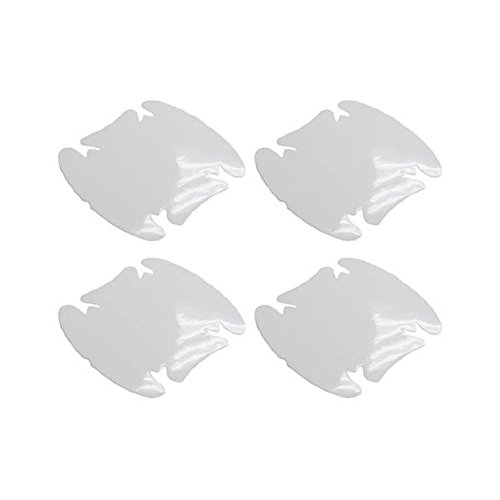 (4) Universal Clear Side Door Handles Paint Scratches Protective Film (Car Paint Protector)
