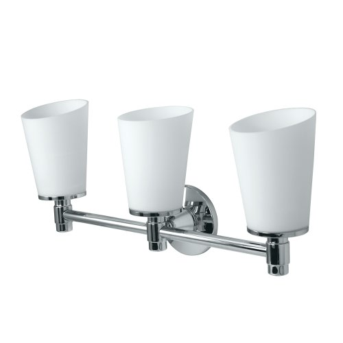 Gatco 1666 Max Triple Sconce Light, (Bathroom Triple Sconce)