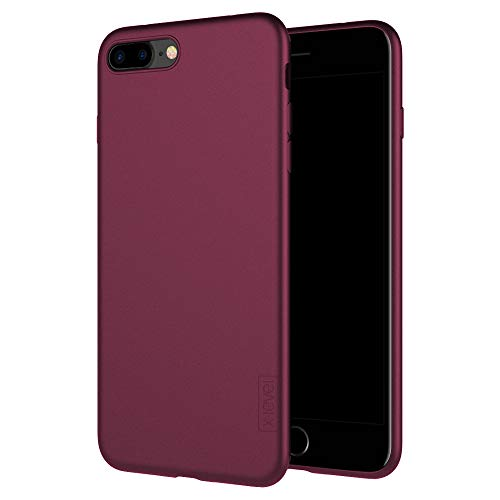 X-level Case Compatible iPhone 7 Plus, iPhone 8 Plus, Ultra Thin Soft TPU Back Cover Phone Case for Women and Men Compatible iPhone 7 Plus(2016) / iPhone 8 Plus(2017) 5.5'' (Wine Red)
