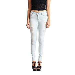 Celebrity Pink Jeans Women Shaper Butt Lifting Distressed Skinny Jeans