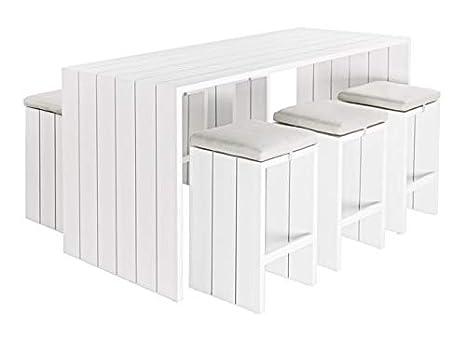 Set tavolo bar sgabelli c c atlantic amazon giardino e