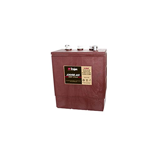 Trojan J305E-AC 6V 305Ah Flooded Lead Acid Deep Cycle Battery FAST USA SHIP