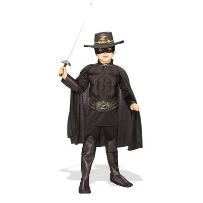 Deluxe Zorro Child Costume