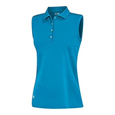 adidas Golf Women's Puremotion Solid Sleeveless Polo Shirt