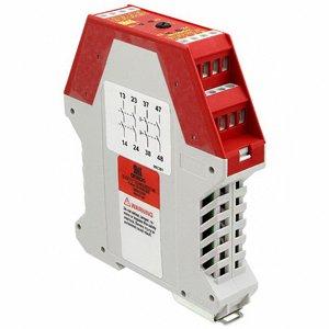Omron 445101091 Safety Relay, 24 VAC/VDC, 10 mA, 1 NC - 2 NC