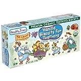 Healthy Times Vanilla Teething Biscuit 6 Oz (Pack of 12) - Pack Of 12
