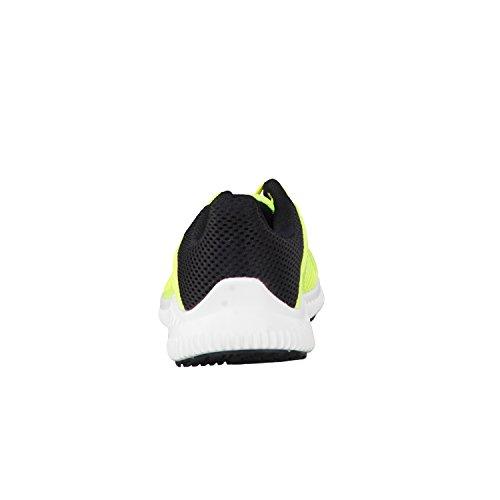 adidas FortaRun K - Zapatillas de deportepara niños, Amarillo - (AMASOL/FTWBLA/NEGBAS), 4