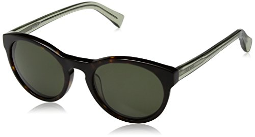 Cole Haan Ch6008s Round Sunglasses, Dark Tortoise, 50 - Womens Cole Sunglasses Haan