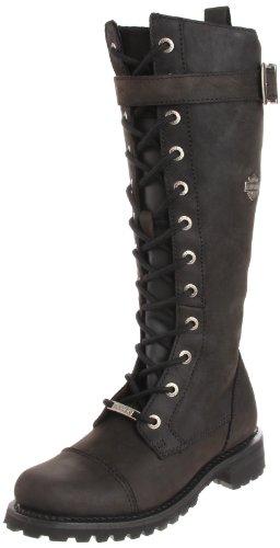 - Harley-Davidson Women's Savannah Motorcycle Boot,Black,7.5 M US