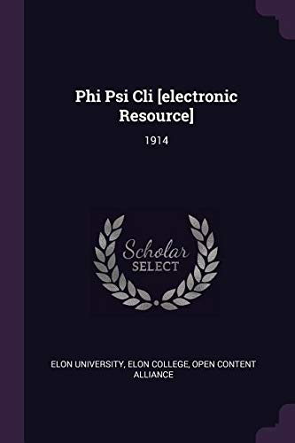 Download Phi Psi CLI [electronic Resource]: 1914 ebook