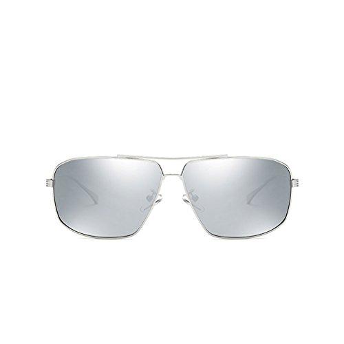 antideslumbrante Sol B Controlador Sol de Color Cómodo con y Doble de Personalizadas polarizado Montura con Colorido Sol Gafas C Gafas Espejo Gafas de HA4cBWyy