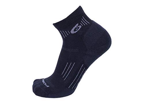 Point6 37.5 Light Mini Crew Socks Black M