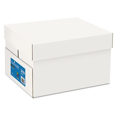 Platinum Paper, 99 Brightness, 24lb, 12 x 18, White, 2500/Carton, Sold as 5 Ream