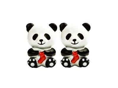 HiyaHiya Panda Point Protectors, Set of 2 Large sizes (Large Needle Point Set)