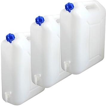 Sehr Gut 3x Wasserkanister 20 Liter Camping Outdoor Trinkwasser Kanister  YL61
