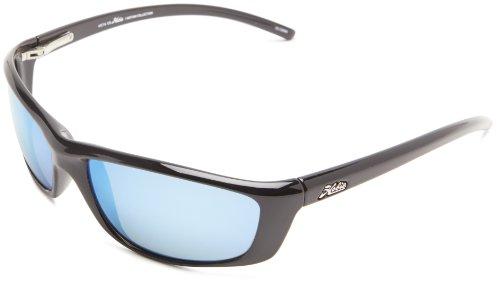 Hobie Cabo-000068 Polarized Rectangular Sunglasses,Shiny Black,60 -