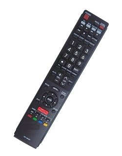 ECONTROLLY New Replaced Remote GB118WJSA for SHARP AQUOS TV GB004WJSA GB005WJSA GA890WJSA GB105WJSA GA935WJSA