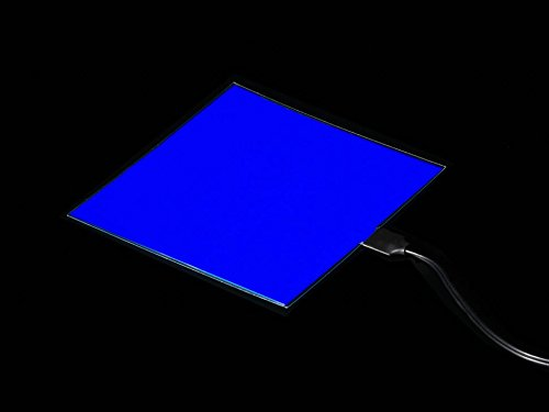 Adafruit Electroluminescent (EL) Panel - 10cm x 10cm Blue [A