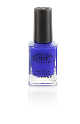 (Color Club Kaleidoscope Nail Polish, Blue, Bright Night.05 Ounce)