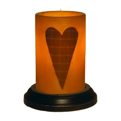 CR Designs Grubby Heart Candle Sleeve