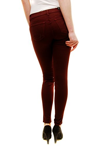 Gamba Brand J Borgogna Donna 821o241 Zoey Magro Jeans FqI7Pqw