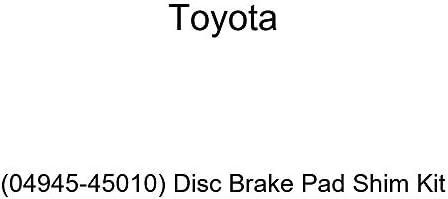 Disc Brake Pad Shim Kit Genuine Toyota 04946-60031