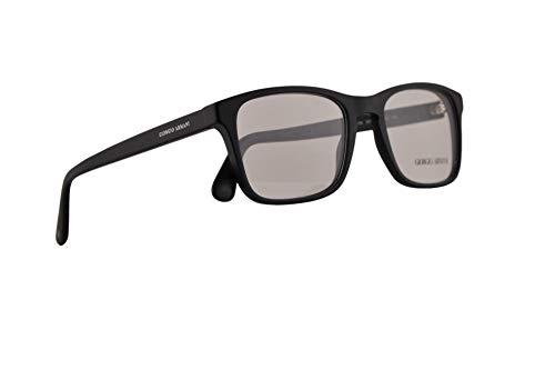 Giorgio Armani AR7158 Eyeglasses 52-19-145 Matte Black w/Demo Clear Lens 5042 AR 7158
