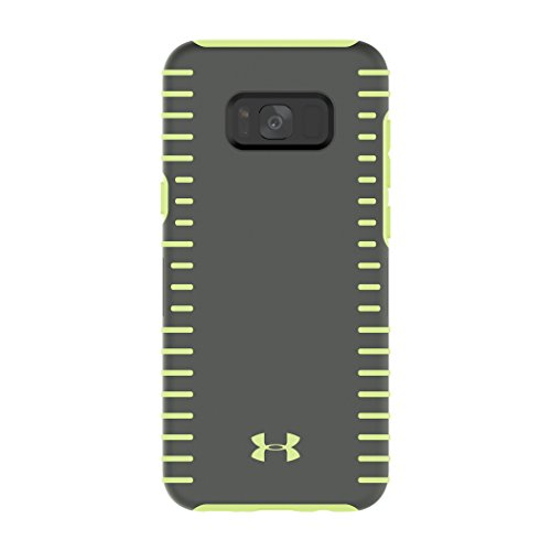 Under Armour UA Protect Grip Case for Samsung Galaxy S8+ – Graphite/Quirky Lime
