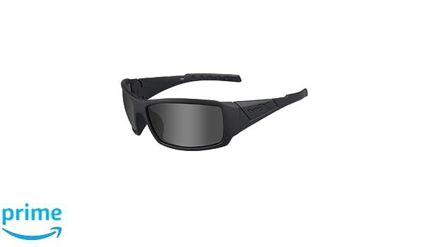 Wiley X WX Trenzado Gafas de Sol, Unisex, Wx Twisted, Matte Black/Ops Polarized Smoke/Grey, M/L: Amazon.es: Deportes y aire libre