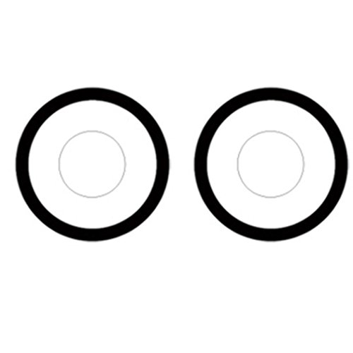 Men Women Soft Colored Cosmetic Cosplay Costume Eyes Makeup(1 Pair) -