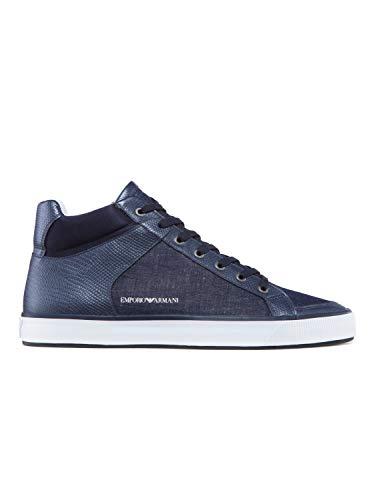 Sneaker Navy Uomo Alta Armani Emporio P0H4qSgx