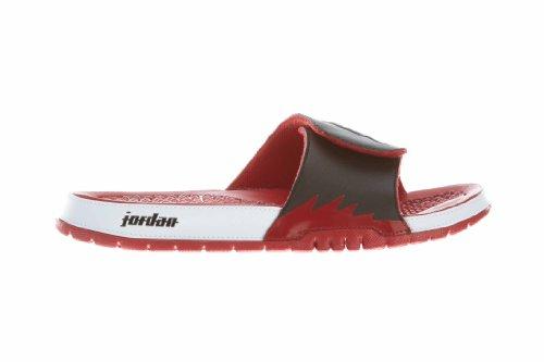 sko Jordan Hydro V Retro - Svart / Hvit-gym Rød, ...