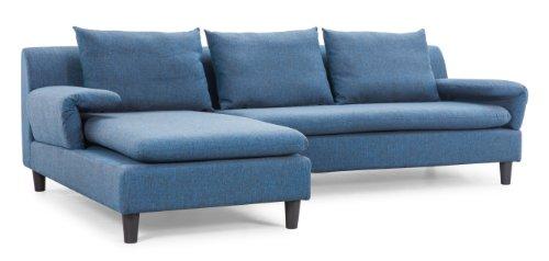 Zuo Axiom Sofa, Cowboy Blue