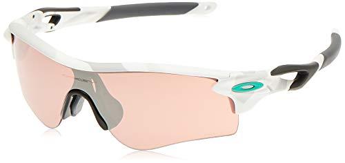 Oakley Men's Oo9206 Radarlock Path Asian Fit Wrap Sunglasses