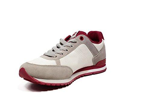 Yellow Colors Tessuto Magenta Blanc Giallo Grey 006 Sneakers 2017 Uomo Colmar Travis Estate qP5wXpXY