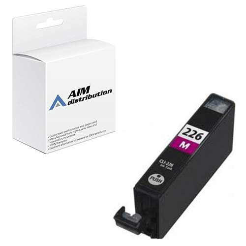 AIM Compatible Replacement for Innovera IVRCLI226M Magenta Inkjet - Compatible to Canon CLI-226M - Generic