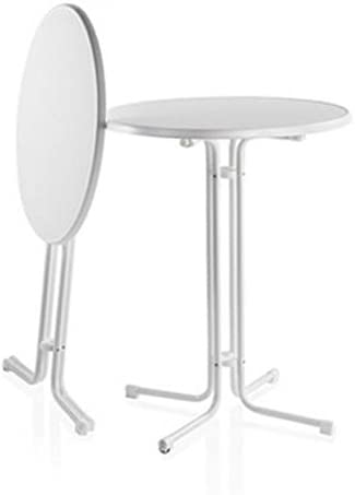 Gastro Uzal Mange-Debout Pliable 70?cm, Table de bistrot ...