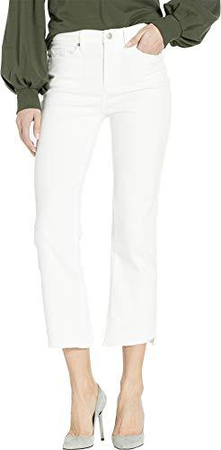 Couture Zip Juicy (Juicy Couture Women's Denim Crop Flare Jeans Bone Wash 29 25)