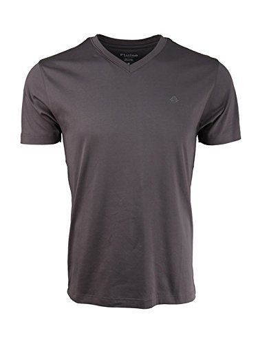 Shape Marquis (Marquis Charcoal V-Neck Modern Fit Luxury Cotton T-Shirt)