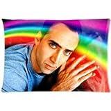 Customize Nicolas Cage Custom Zippered Pillowcase Standard Size 20